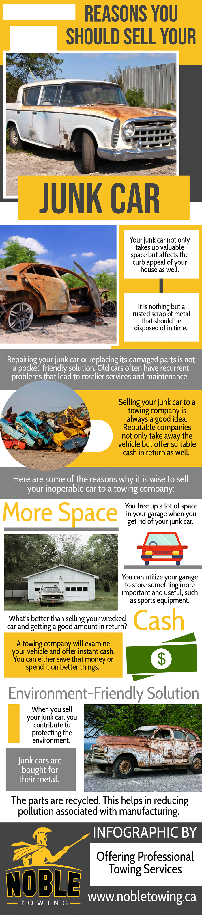 Reasons You Should Sell Your Junk Car